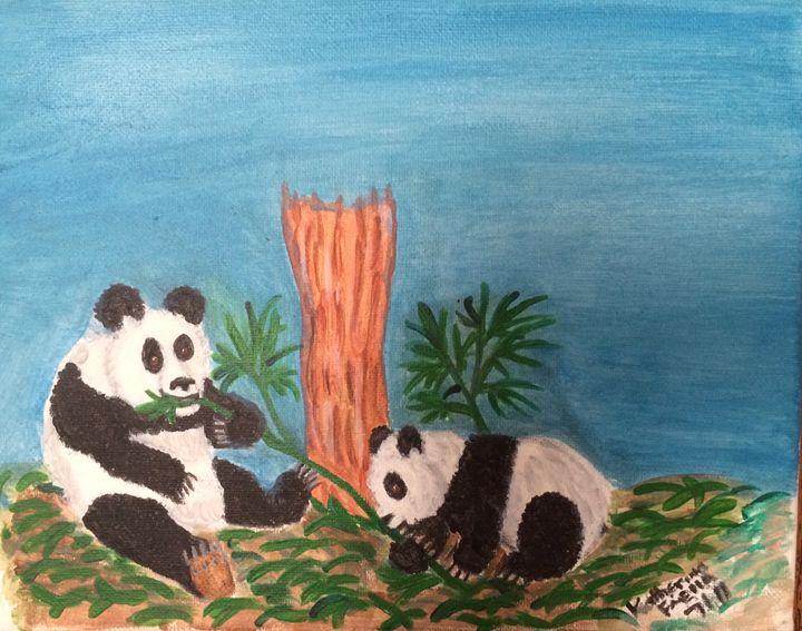 Panda bears - KatrinaArt