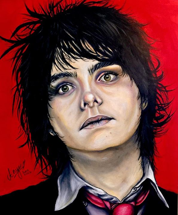 Revenge Era Gerard Way - Anya Uberbacher