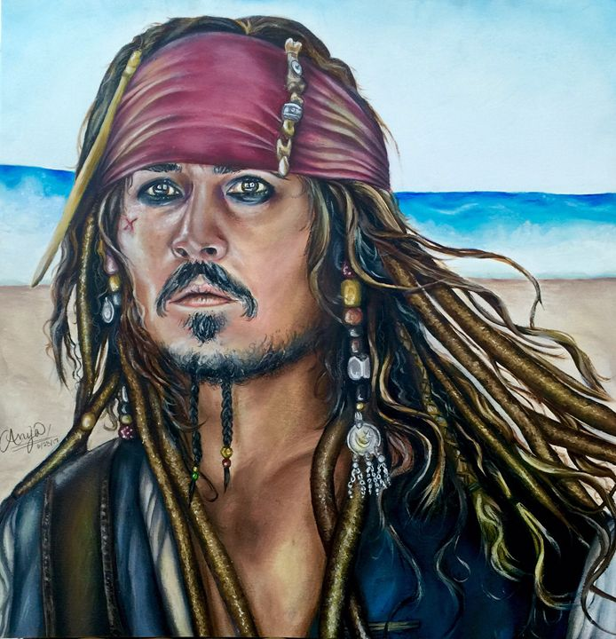 Captain Jack Sparrow - Anya Uberbacher
