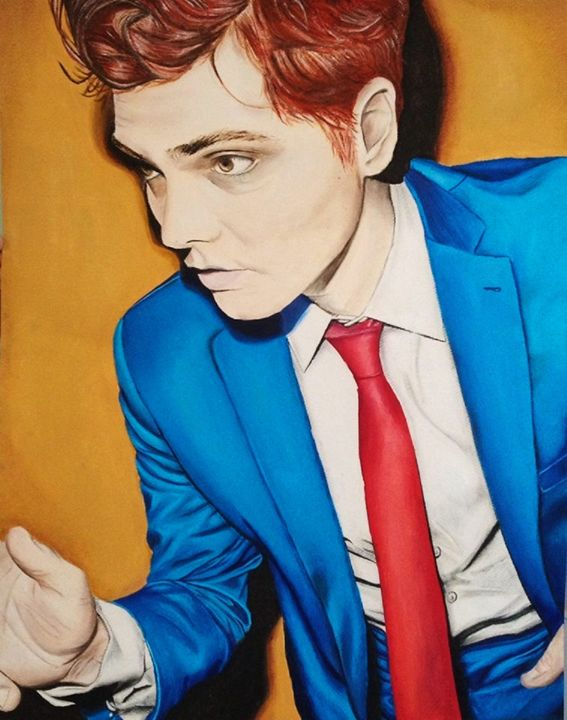 Gerard Way the Alien - Anya Uberbacher