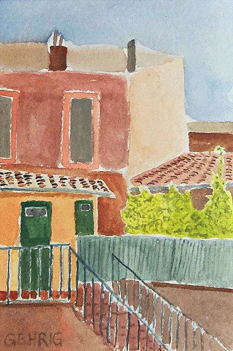 Back Balcony in Toulouse - Peter Gehrig