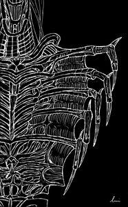Snake alien (sort of) - inverted