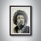 Jimmy Hendrix painting