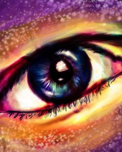 Eye of a Day Dreamer