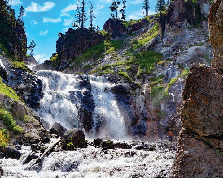 waterfall wall - Rosemary Wendorf
