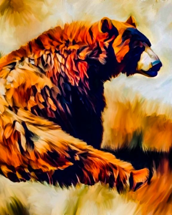 Bear in Thought - Rosemary Wendorf