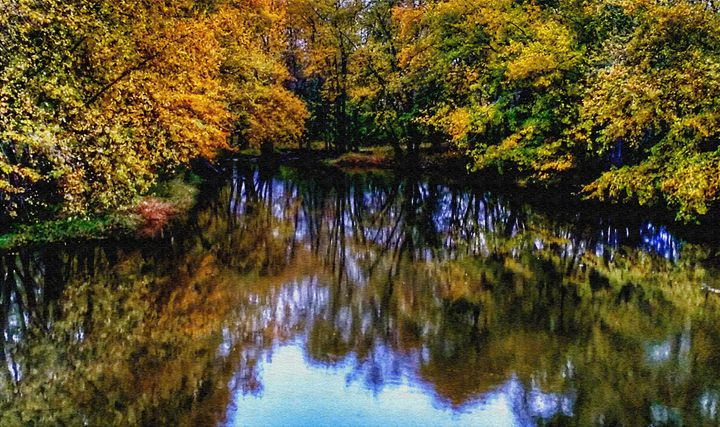 Fall Photo with Painting Filters - Rosemary Wendorf