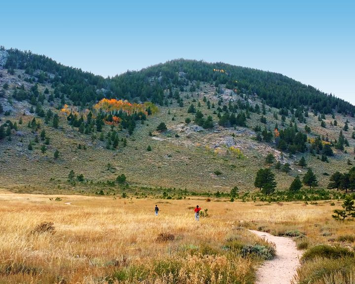 First View of a Colorado Mountain - Rosemary Wendorf
