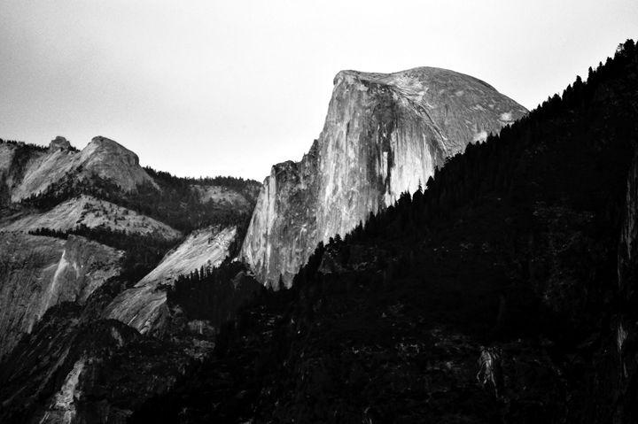 Yosemite Half Dome - Rosemary Wendorf