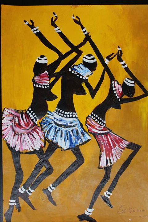Dances with Wolves - African Art Gallery