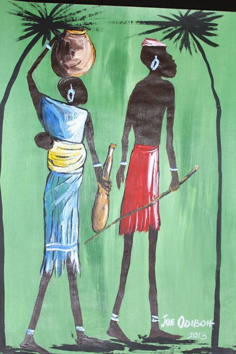 African Family - African Art Gallery