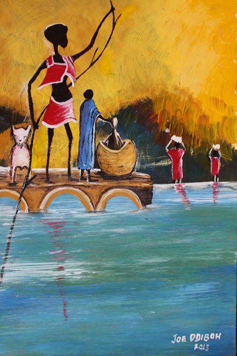 Underwater - African Art Gallery
