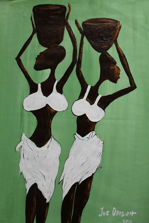 Maidens - African Art Gallery