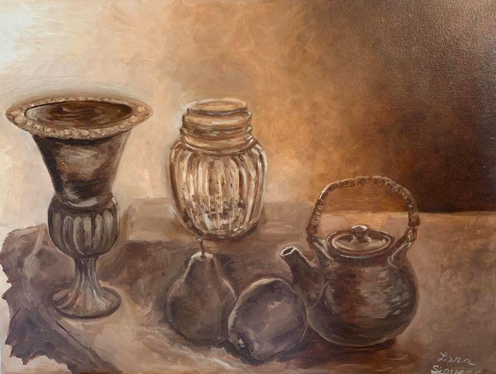 Still life in brown -  Larisat17