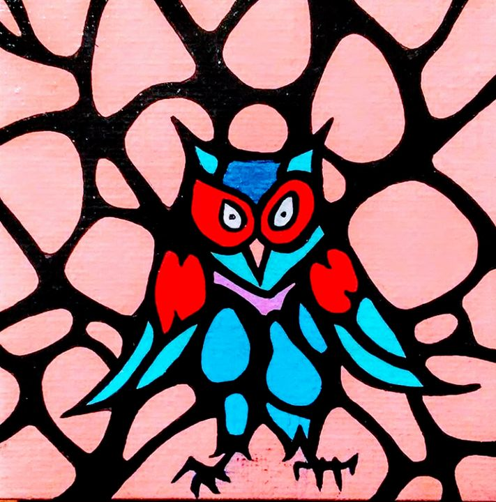 Scared Owl - Roman Gutierrez