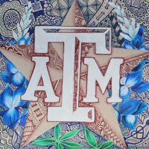Texas A&M in Bluebonnets