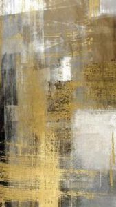 Abstract with gold touch