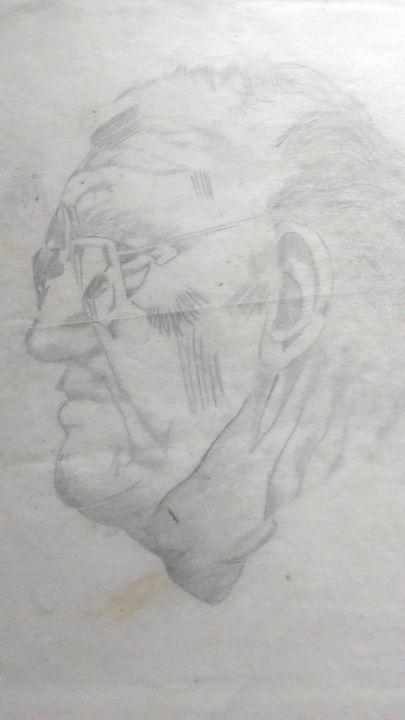 Elderly male profile - James Burgess
