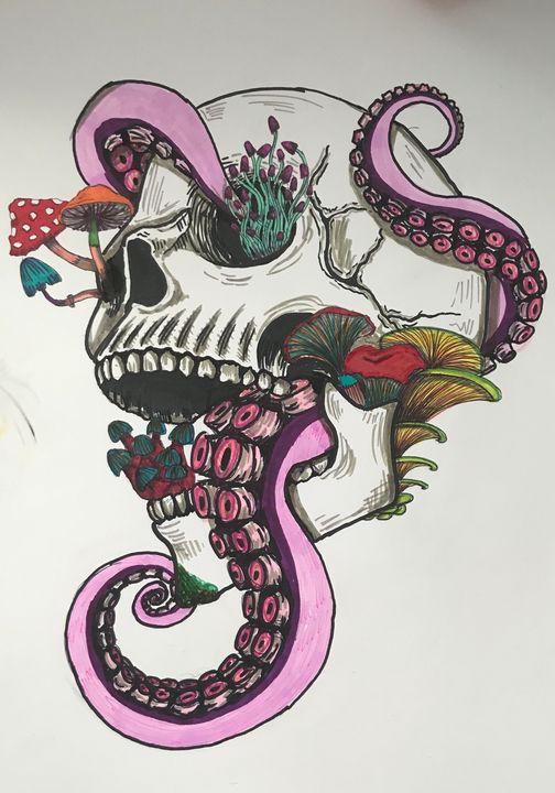 Magic skull - Dominika malachowska