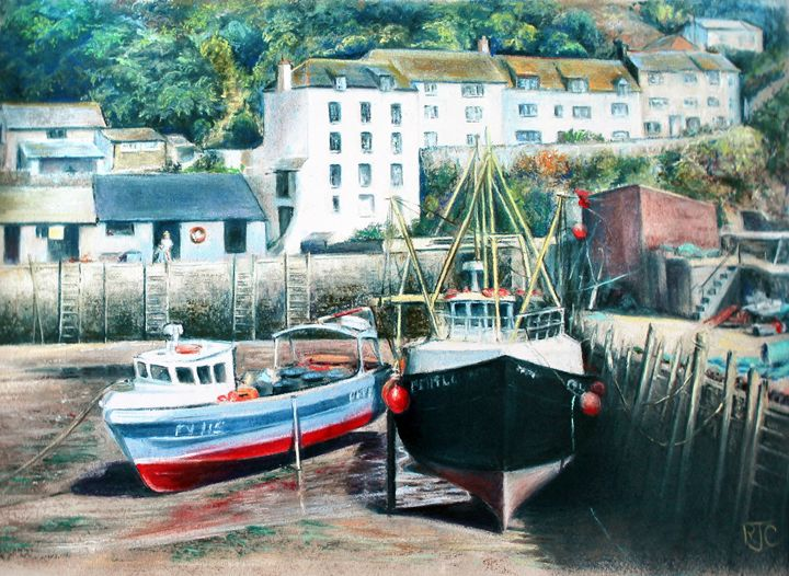Waiting For The Tide - Rosemary Colyer