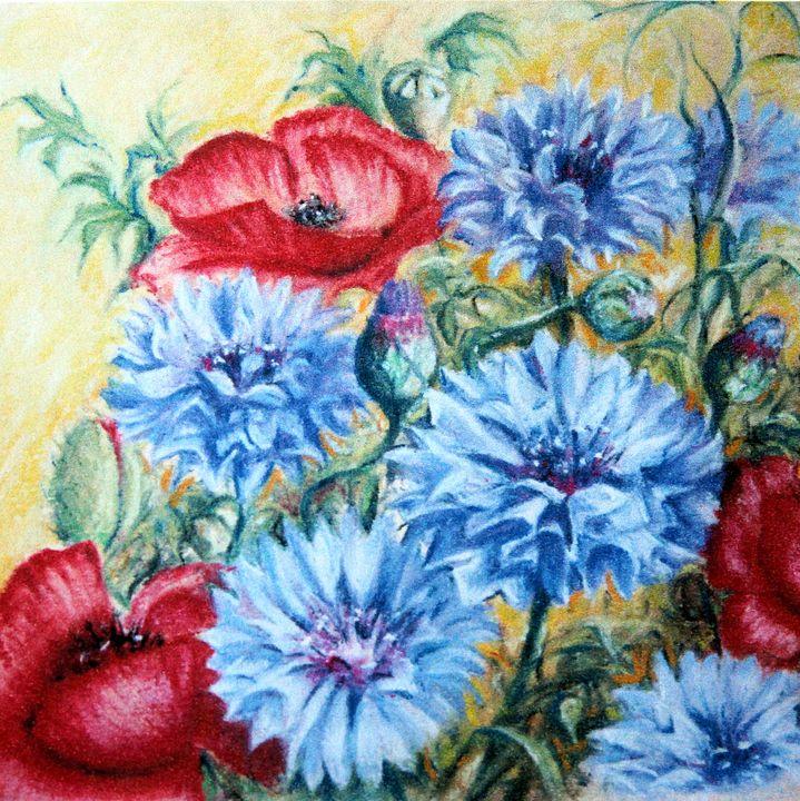 Summer Abundance - Rosemary Colyer