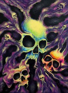 """Psychedelia"" Art Print - Gregg's Deep Colors"