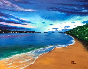 """Ocean of Dreams"" Art Print"