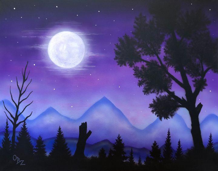 """""""Moonlit Valley"""" - Gregg's Deep Colors"""