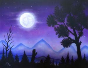 """""""Moonlit Valley"""""""