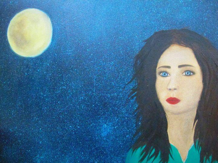 she-wolf - original art