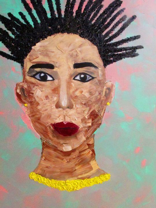 Nefertiti - original art