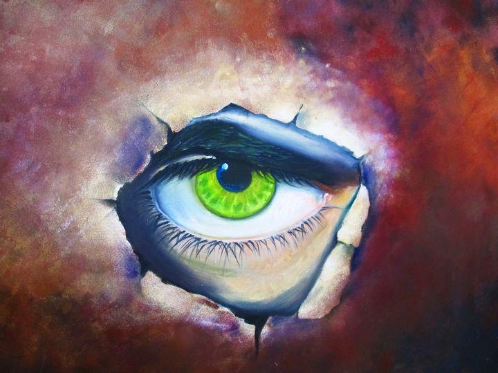 eye - original art