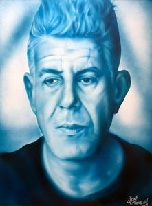 Blue Bourdain