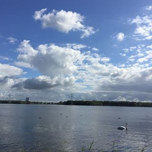 Almere city water view