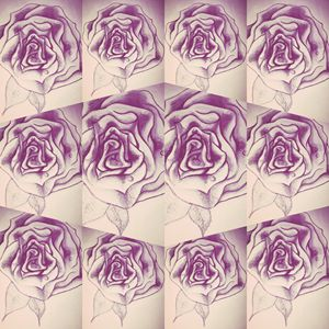 Newskool rose art