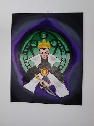Evila queen - villans from coimcs and flims