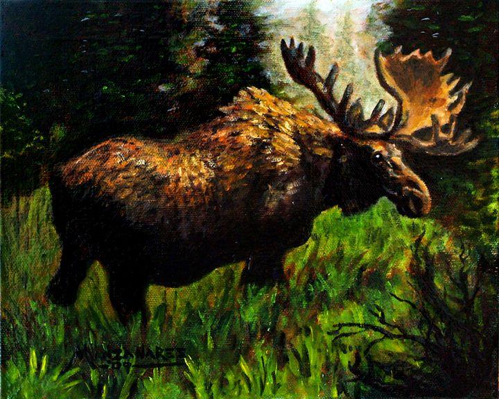 The Majestic Moose - Fine Art Studio of Christopher Manzanares