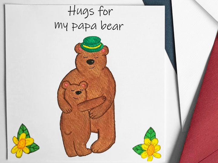 Hugs for my papa bear - artofalliSweden