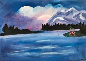 Blue dream landscape