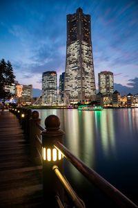 Minato Mirai, Yokohama cityscape.