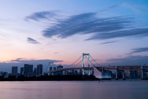 Odaiba in the evening