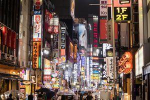 Kabuki-cho, Shinjuku at night