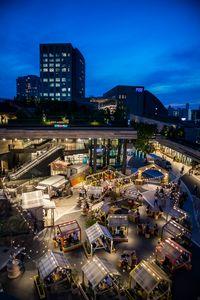 Outdoor Eating in Futako Tamagawa