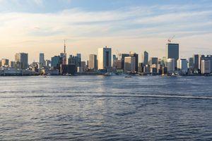Tokyo City at sunset