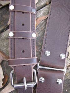 Leather Bass/guitar strap - NMD Studio