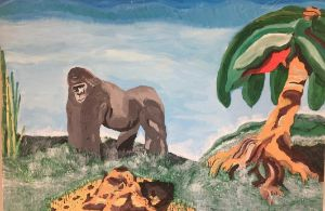 Silverback gorilla - Patricio Polanski