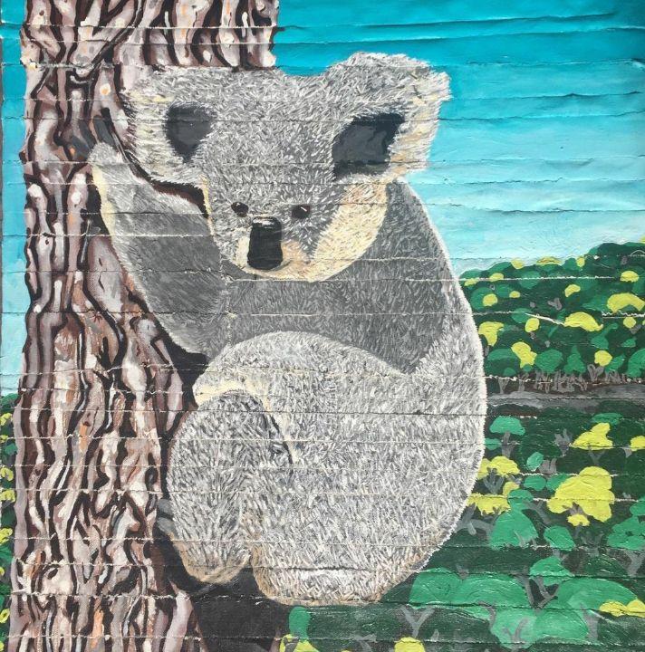 Felix the recycled koala - Patricio Polanski