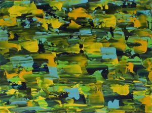 Yellow/Green Mosaic