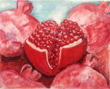Pomegranates Original Watercolor