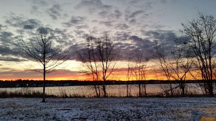 Snowy Sunrise - Riann Babineau